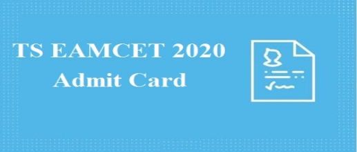 TS EAMCET 2020 Admit Card will be available from June 27th