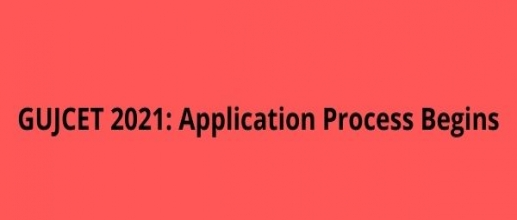 GUJCET 2021 Application Process