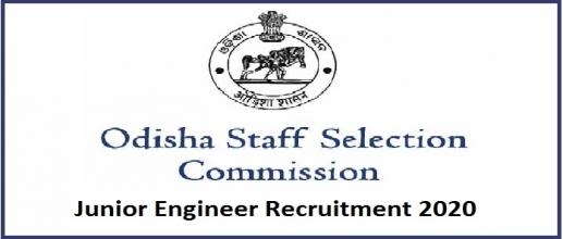 OSSC Junior Engineer Recruitment 2020