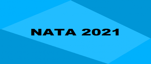 NATA 2021 Application form correction facility