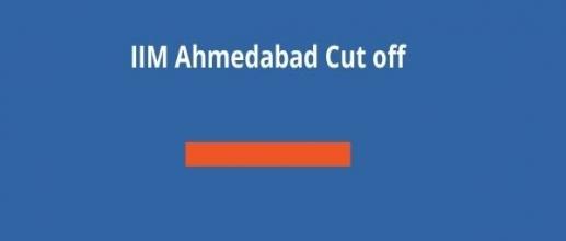 IIM Ahmedabad Cut off