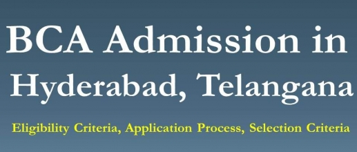 BCA Admission in Hyderabad, Telangana