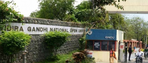 Schedule for IGNOU June term exam