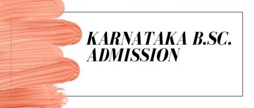 Karnataka B.Sc. Admission