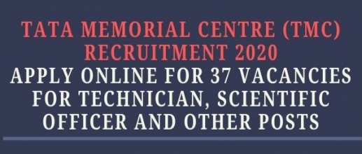 Tata Memorial Centre (TMC) Recruitment 2020: Apply Online