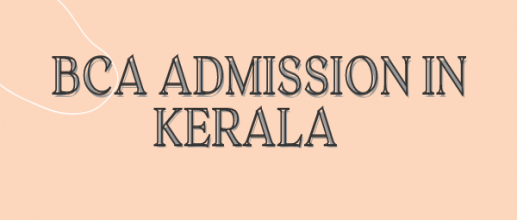 BCA Admission in Kerala