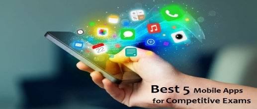 Best 5 Mobile Apps for Competitive Exams Preparation