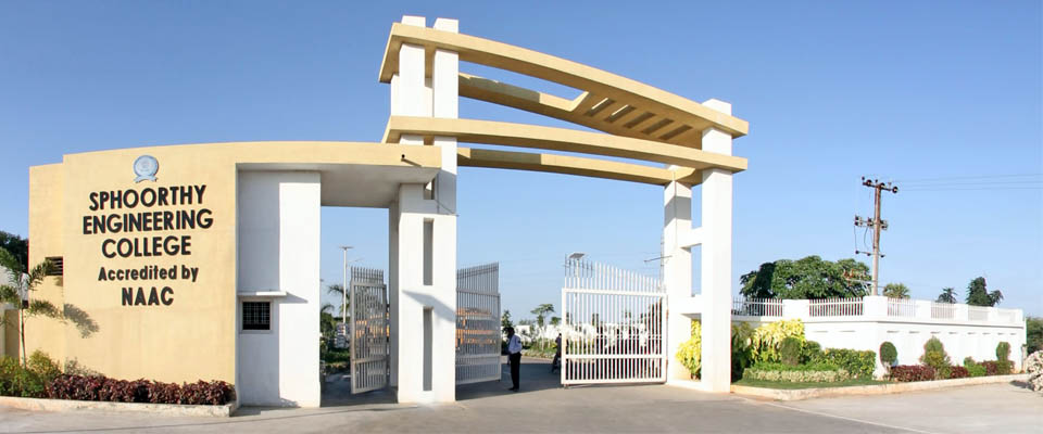 Sphoorthy engineering college sec hyderabad admission for Architecture colleges list in hyderabad