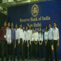 IBMR Industry visit in RBI Delhi