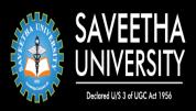 Saveetha University - [Saveetha University]