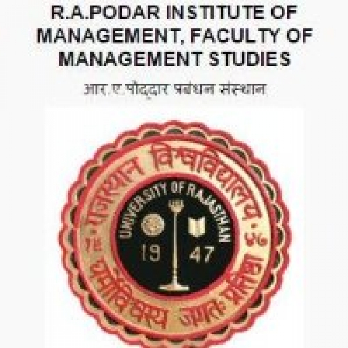 R.A. Podar Institute of Management - [R.A. Podar Institute of Management]