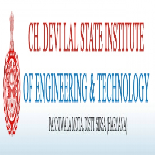 Ch. Devilal State Institute of Engineering & Technology