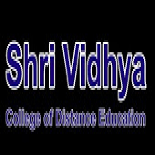 Sri Vidya college of distance education - [Sri Vidya college of distance education]