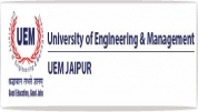 University of Engineering and Management - [University of Engineering and Management]