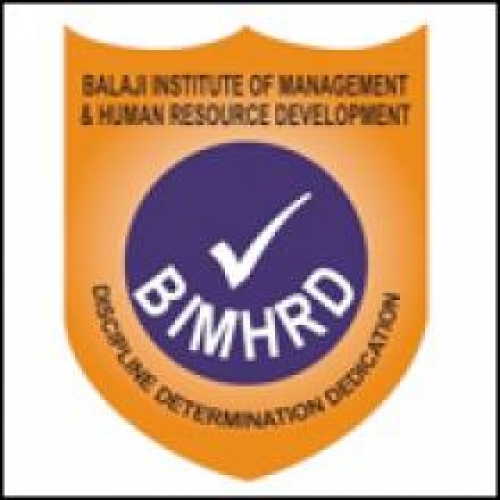 Balaji Institute Of Management And Human Resource Development - [Balaji Institute Of Management And Human Resource Development]