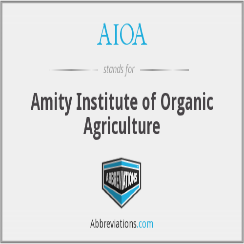 Amity Institute of Organic Agriculture - [Amity Institute of Organic Agriculture]