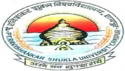 Pandit Ravishankar Shukla University - [Pandit Ravishankar Shukla University]