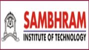 Sambhram Institute of Technology - [Sambhram Institute of Technology]