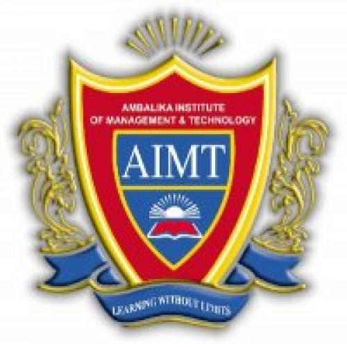 Ambalika Institute of Management and Technology - [Ambalika Institute of Management and Technology]