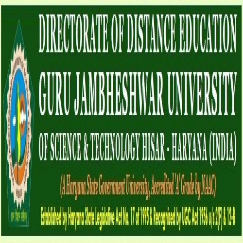 Guru Jambheshwar University Distance Learning - [Guru Jambheshwar University Distance Learning]
