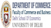 Department of Commerce, Delhi School of Economics, University of Delhi - [Department of Commerce, Delhi School of Economics, University of Delhi]