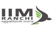Indian Institute of Management Ranchi - [Indian Institute of Management Ranchi]