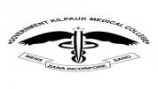 GOVT KILPAUK MEDICAL COLLEGE - [GOVT KILPAUK MEDICAL COLLEGE]