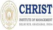 Christ Institute of Management-B schools,Ghaziabad - [Christ Institute of Management-B schools,Ghaziabad]