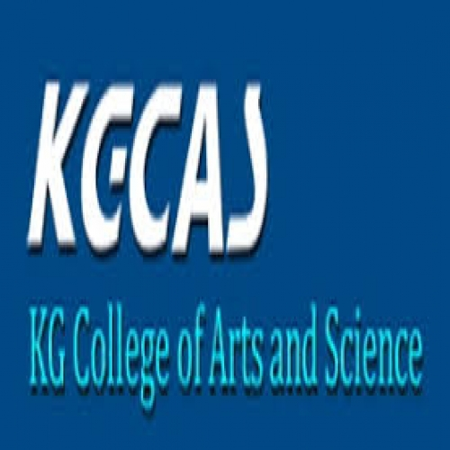 KG College of Arts and Science - [KG College of Arts and Science]