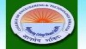 College of Engineering and Technology Bikaner - [College of Engineering and Technology Bikaner]