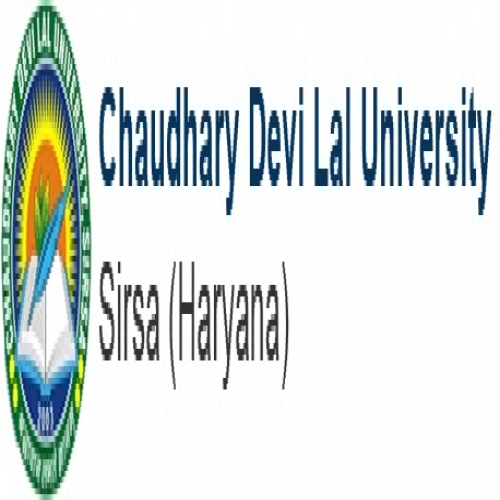 University Center for Distance Learning - Chaudhary Devi Lal University - [University Center for Distance Learning - Chaudhary Devi Lal University]