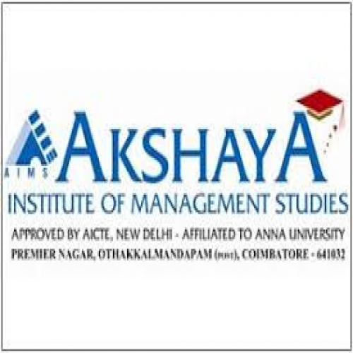 Akshaya Institute of Management Studies - [Akshaya Institute of Management Studies]