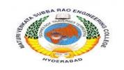 Maturi Venkata Subba Rao Engineering College - [Maturi Venkata Subba Rao Engineering College]