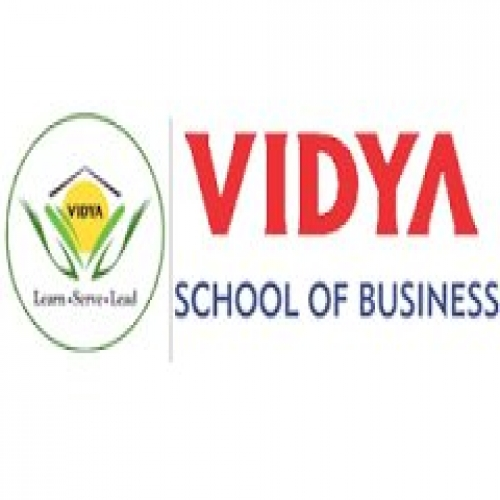 Vidya School of Business - [Vidya School of Business]