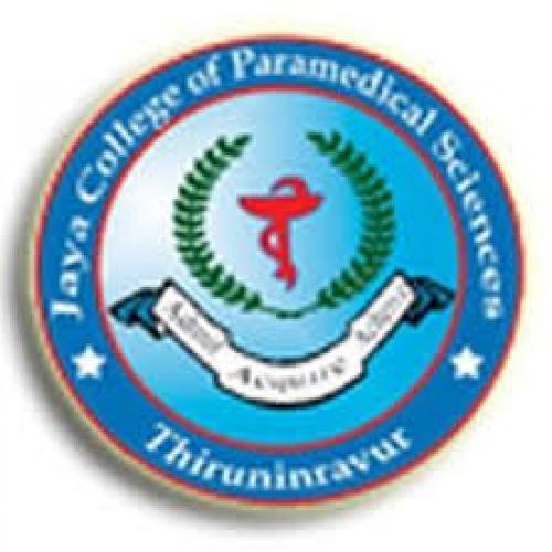 Jaya College of Pharmacy & Paramedical Sciences - [Jaya College of Pharmacy & Paramedical Sciences]