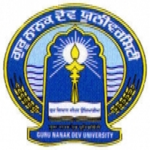 Guru Nanak Dev University Centre for Distance Education - [Guru Nanak Dev University Centre for Distance Education]