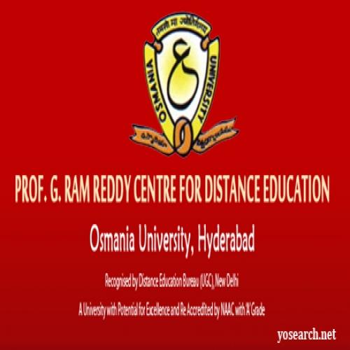 Osmania University Distance Education - [Osmania University Distance Education]
