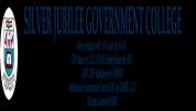 Silver Jubilee Government Degree College Kurnool - [Silver Jubilee Government Degree College Kurnool]