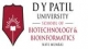 D Y Patil University School of Biotechnology and Bioinformatics